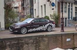 Jaguar XF, autonomous vehicle, Amsterdam Declaration
