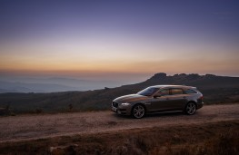 Jaguar XF Sportbrake, 2017, side, sunset