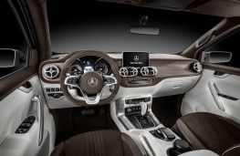 Mercedes-Benz Concept X-Class, stylish explorer, interior
