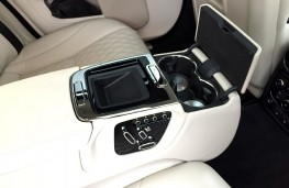 Jaguar XJ50, 2019, rear armrest, open