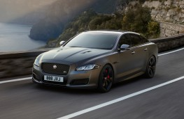 Jaguar XJR575, 2017, front, action