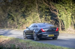 Jaguar XJ LWB Autobiography, 2016, rear