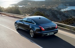 Jaguar XJ50, 2019, rear, action