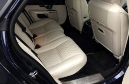 Jaguar XJ LWB Autobiography, 2016, rear seats