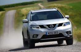 Nissan X-Trail, 2016, nose