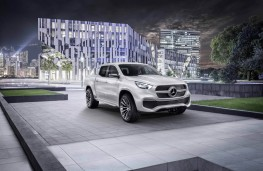 Mercedes-Benz Concept X-Class, stylish explorer, nose