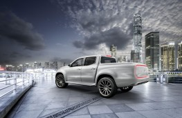 Mercedes-Benz Concept X-Class, stylish explorer, rear