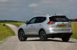 Nissan X-Trail, 2016, rear