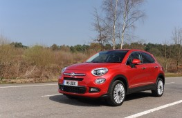Fiat 500X, front, action