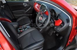 Fiat 500X, interior