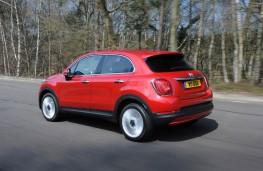 Fiat 500X, rear, action