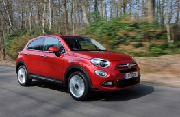 Fiat 500X, side, action