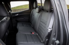 Mercedes-Benz X-Class, 2017, rear seats