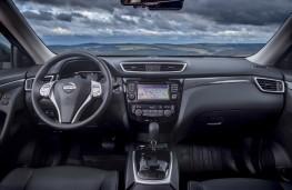 Nissan X-Trail, 2017, dashboard