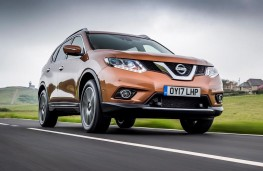 Nissan X-Trail, 2017, front, action