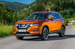 Nissan X-Trail, 2017, front