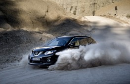 Nissan X-Trail, 2017, off road, front