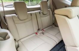 Nissan X-Trail, 2017, rear seats