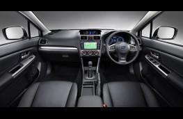 Subaru XV 2015, interior