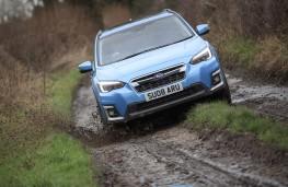 Subaru XV e-Boxer, 2020, off road, track