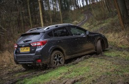Subaru XV, 2018, off road, rear
