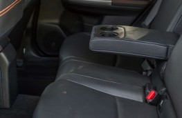 Subaru XV, 2018, rear seats