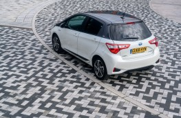 Toyota Yaris Y20, 2019, rear