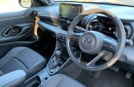 Toyota Yaris, 2021, dashboard