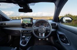 Toyota GR Yaris, 2021, dashboard
