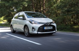 Toyota Yaris 2014, front, action
