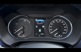 Toyota Yaris hybrid, 2017, instrument panel