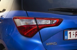 Toyota Yaris hybrid, 2017, rear lights