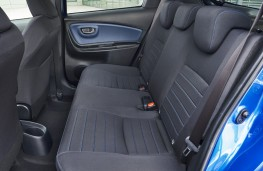 Toyota Yaris hybrid, 2017, rear seats