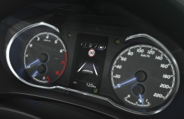 Toyota Yaris, 2017, instrument cluster