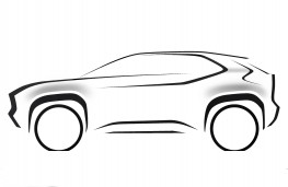 Toyota compact SUV, 2020, sketch