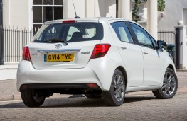 Toyota Yaris 2014, rear, static