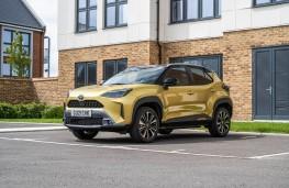 Toyota Yaris Cross, 2020, front