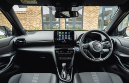 Toyota Yaris Cross, 2020, dashboard