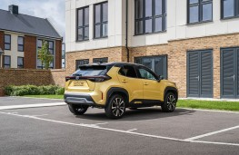 Toyota Yaris Cross, 2020, rear