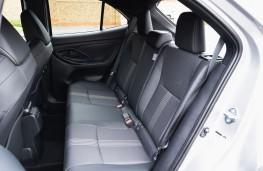 Toyota Yaris Cross, 2021, rear seats