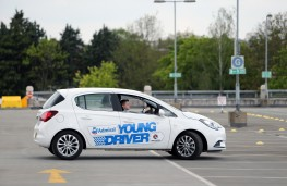Young Driver training, Vauxhall Corsa