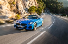 BMW Z4, 2019, front, action