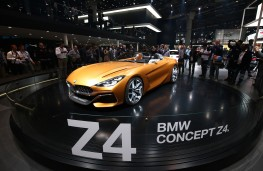 BMW Z4 concept, 2017, front, static