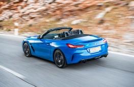 BMW Z4, 2019, rear, action