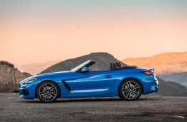 BMW Z4, 2019, side, static