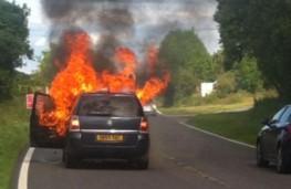 Vauxhall Zafira, fire
