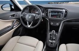 Vauxhall Zafira Tourer, 2016, interior