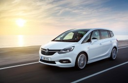 Vauxhall Zafira Tourer, 2016, side
