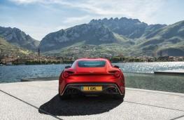 Aston Martin Vanquish Zagato, 2016, rear