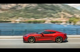 Aston Martin Vanquish Zagato, 2016, side
